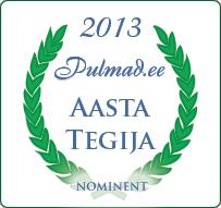 Pulmad.ee Aasta Tegija 2013 nominent