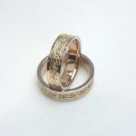 Mustriga abielusõrmused