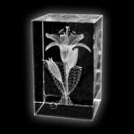 Kristall lillega - kingitus