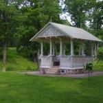 Kaunistatud paviljon