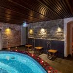 von Stackelberg Hotel Tallinna Zen-SPA saun ja jaapani bassein